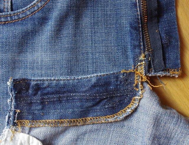 Autopsie d'un short en jean (1/1)