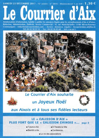 """Disparition du """"Courrier d'Aix"""": un cas emblématique"""