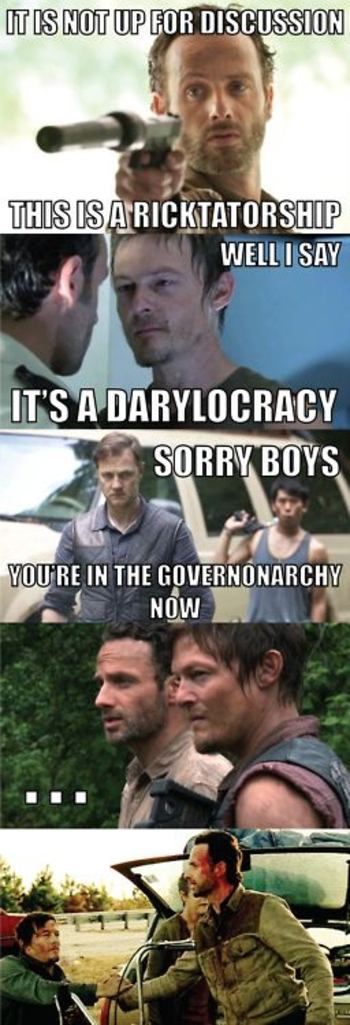 The Walking Dead memes 6