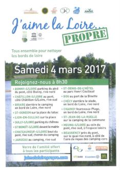 La Loire propre.