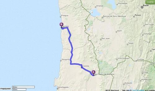 25.04.2013 - San Pedro de Atacama > Iquique