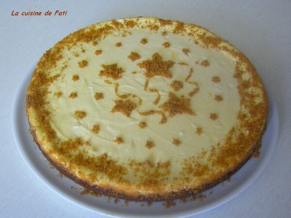Cheesecake à la ricotta et aux spéculoos