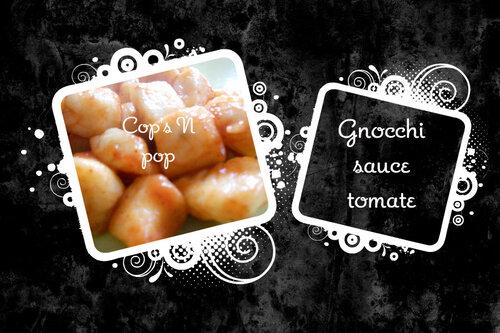 Gnocchi maison à la sauce tomate