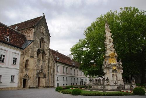 Monastère Heiligkreuz (Sainte Crix) en Autriçe (photos)
