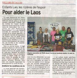 Article Courrier Cauchois - Juillet 2013