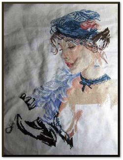 LA FEMME AU ROUGE A LEVRES (4)