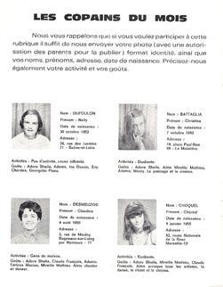 Journal de Sheila N°40 -  Septembre 1968