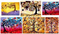 Des arbres à la manières de Natasha Wescoast
