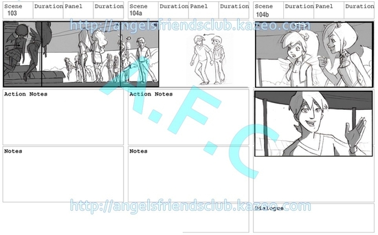 Angel's Friends Storyboard part.4