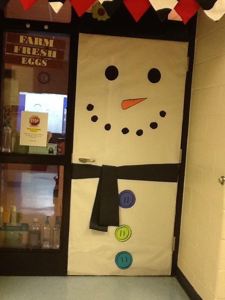 Porte de classe pour noel ou l 39 hiver ma classe et moi for Idee decoration porte de classe