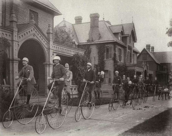 Kendall Green bicycle club 1884
