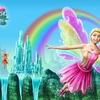 Le premier arc-en-ciel du printemps et les ailes d\'Elina transformées