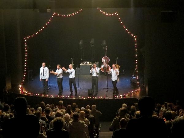 """""""Les fouteurs de joie"""" au théâtre Gaston Bernard pour la Semaine bleue"""