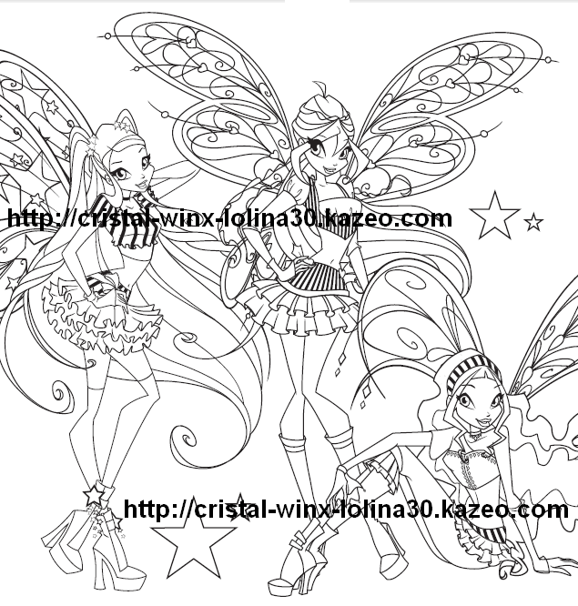 winx coloriage believix