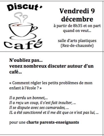 Vendredi, Discut'Café