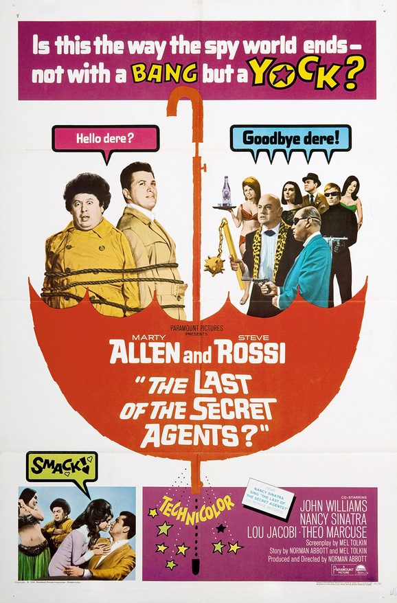 THE LAST OF THE SECRET AGENT ? BOX OFFICE USA 1966