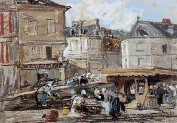 Peintures  représentant Honfleur