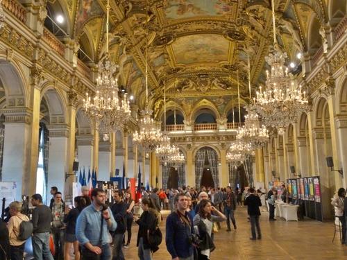 L'Hôtel de ville de Paris (photos)