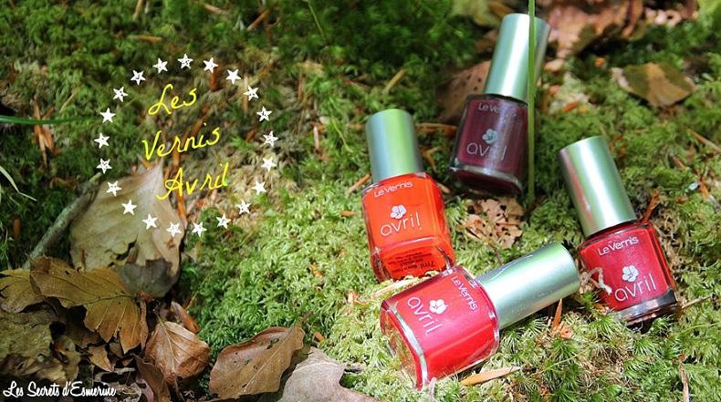 Les Rouges Avril... ou mon côté Puissant et Féminin ! [Test & Avis]