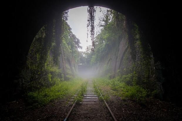 Tunnel vagabond, Petite ceinture
