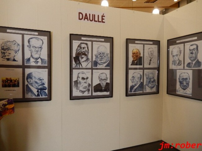 Saint Just Martel : C'était le 37ème salon international de la Caricature, de l'humour et le dessin de Presse
