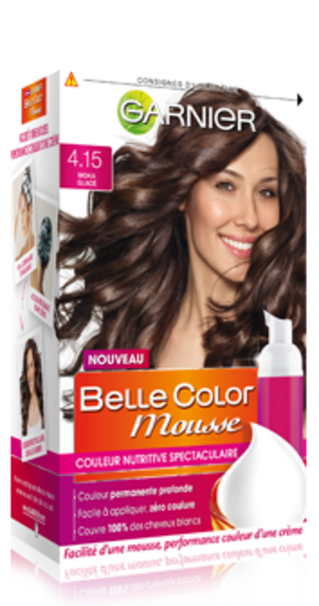 garnier belle color mousse moka glacé