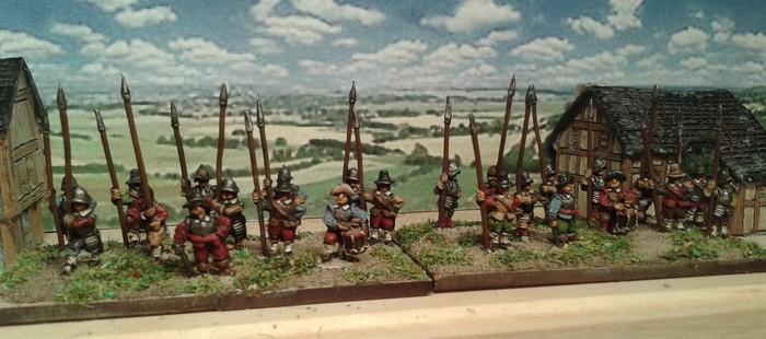 Démo Vaires sur Marne (Breitenfeld 1631): les premières figs :