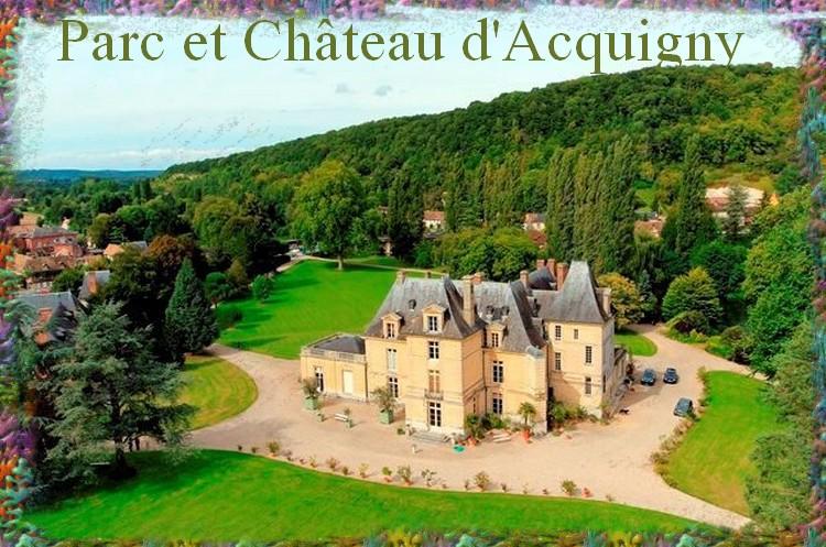 Parc et château d'Acquigny (