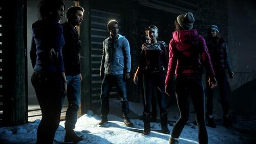 Until Dawn ce jeu !!!