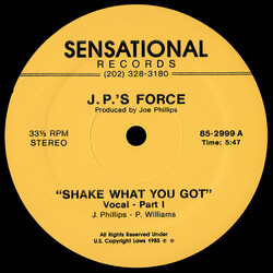 J.P.'s Force - Shake What You Got