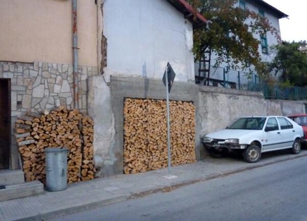 Jour 5 - Devin - du bois dans le garage