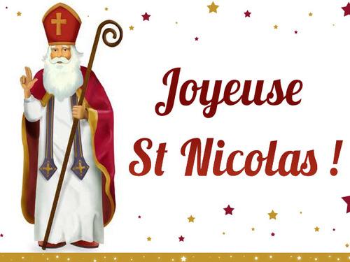 Saint Martin pour Saint Nicolas, Fin.