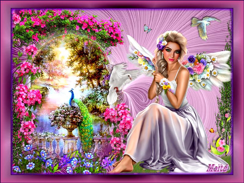 Mon bel Ange d'Amour..pour Vous..