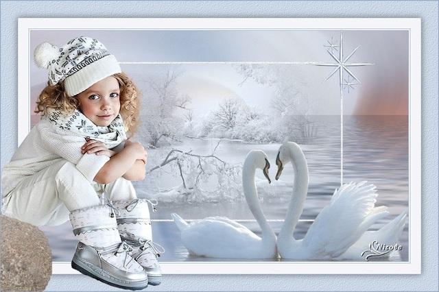EN0010 - Tube fillette en hiver