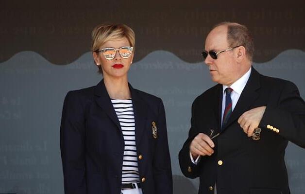 Albert et Charlène au Monte-Carlo Rolex Masters