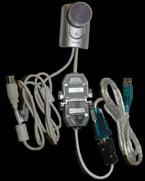 Philips ToUcam Pro II modifiée longue pause