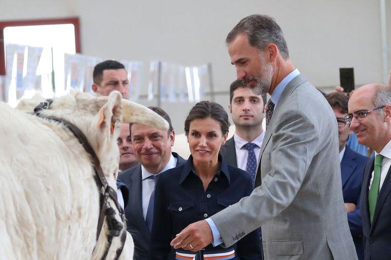 Felipe et Letizia à Salamanca
