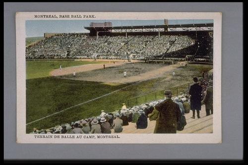 Le premier stade de Montréal