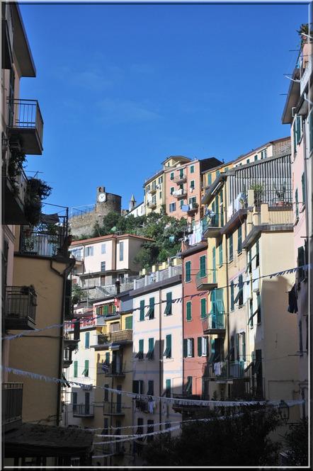 Les 5 Terres : Riomaggiore