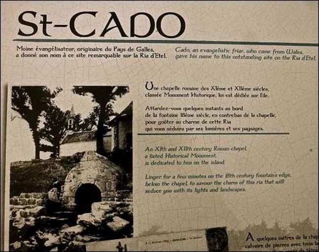 Le pont de l'île Saint-Cado