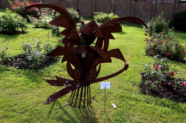 Le Roeux 2015 : Quand l'Art côtoie les roses