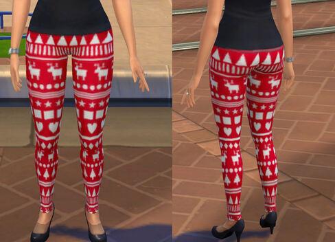 CCs Sims 4 | Bientôt Noël !