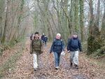 La randonnée du 15 décembre à Bavent