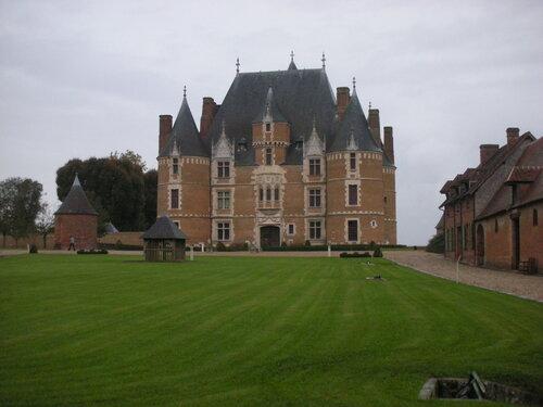 chateau de Martainville extérieur