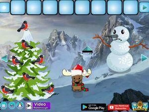 Jouer à Amazing Christmas journey escape