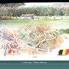"Carte aquarelle - Carnet de voyage ""Balade Saamie"""