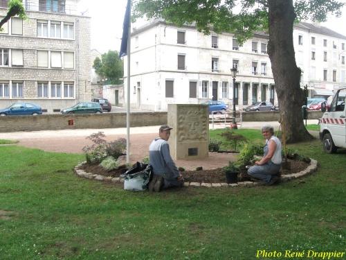 Au jardin de la Mairie