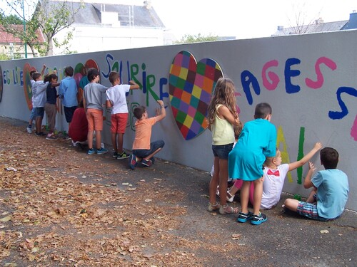 2016-09-08 Poursuite de la réalisation du mur de la Fraternité
