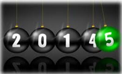 Au revoir 20141 et bonjour 2015