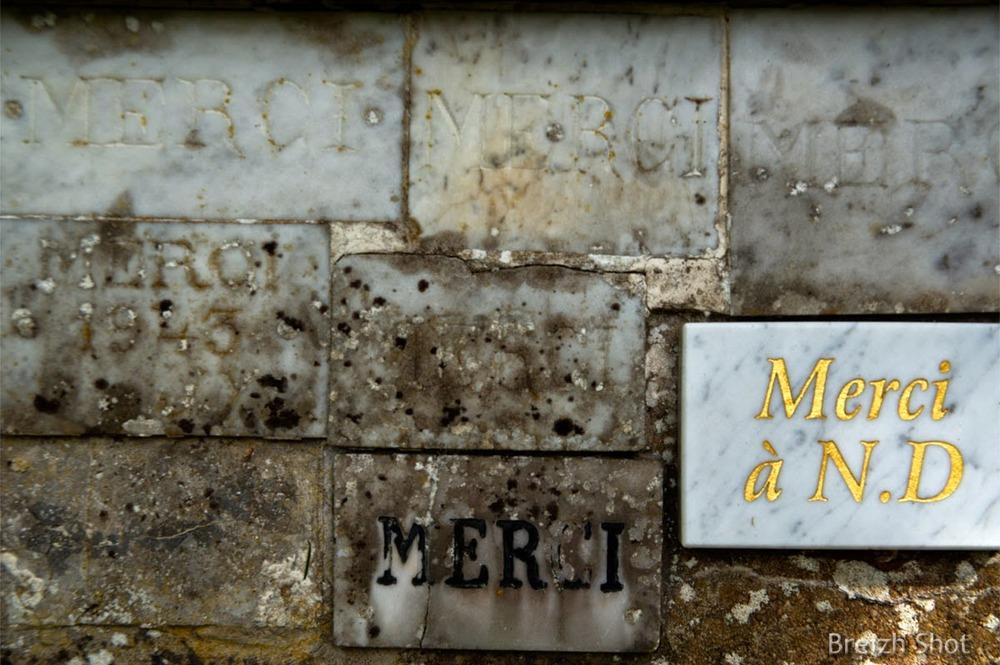 Notre-Dame du Chêne - Saint-Péran - Ex voto récent